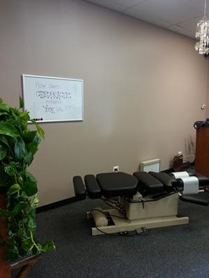 Chiropractic New Baltimore MI Adjustment Chair